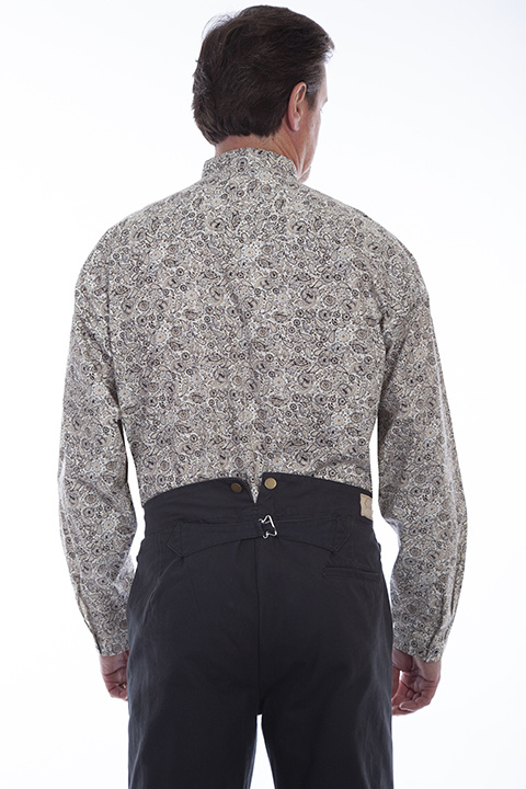 Scully RW329 Mens Scully Paisley L/S Shirt