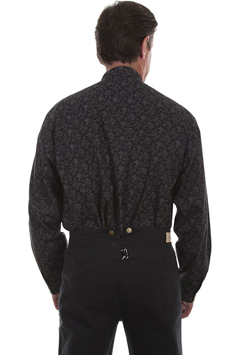 Scully RW291 Scully Mens Paisley L/S Shirt