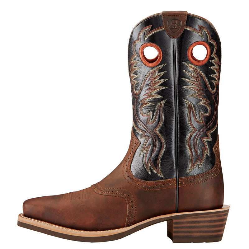 10017378 Ariat Mens Heritage Roughstock Boot