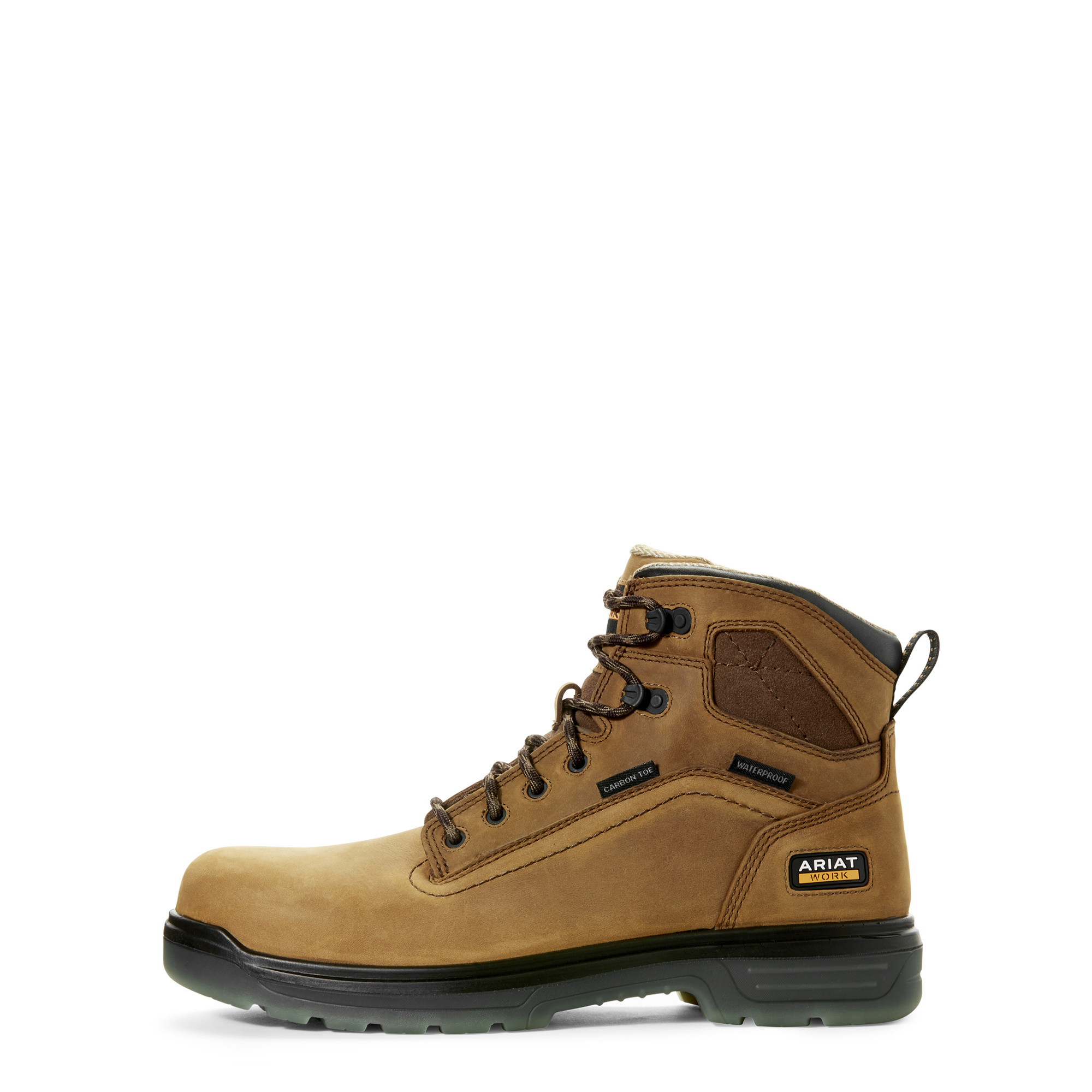 "Ariat 10027335 Ariat Mens turbo 6"" Waterproof Carbon Toe Work Boot"