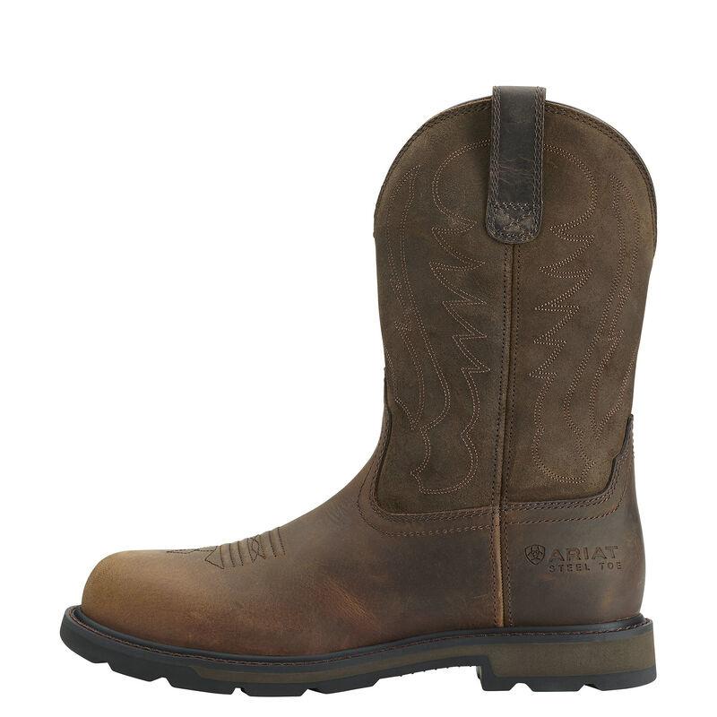 10014241 Ariat Mens Groundbreaker Steel Toe Work Boot