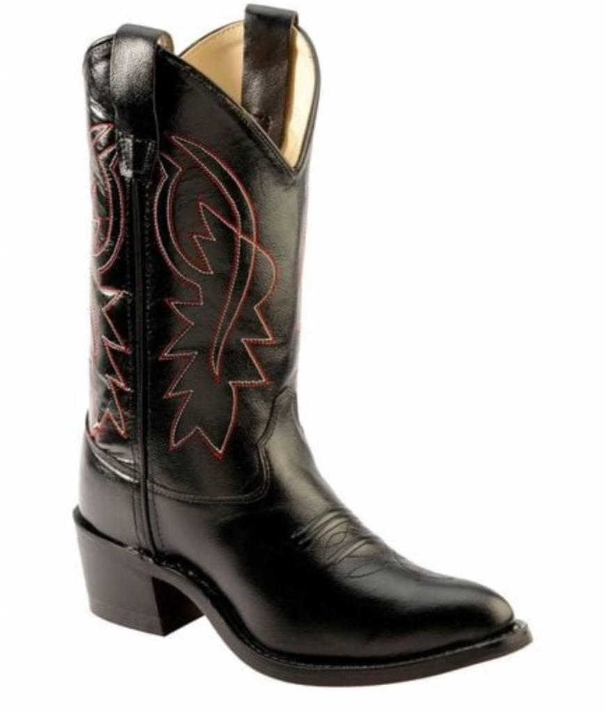 Jama Kids Black Western Boot 8110