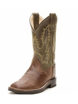 Jama Kids Square Toe Western Boot BSC1877