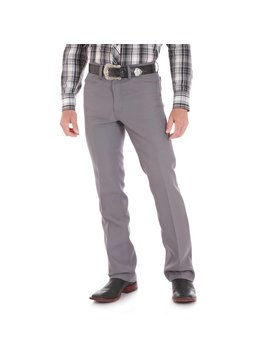 Wrangler Mens Wrancher Grey Pant 82GY