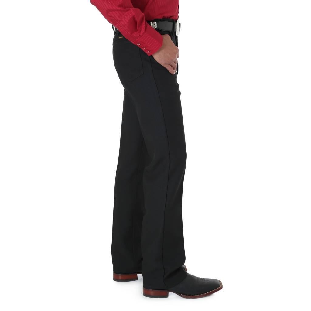 Wrangler 82BK Mens Rancher Black Pant