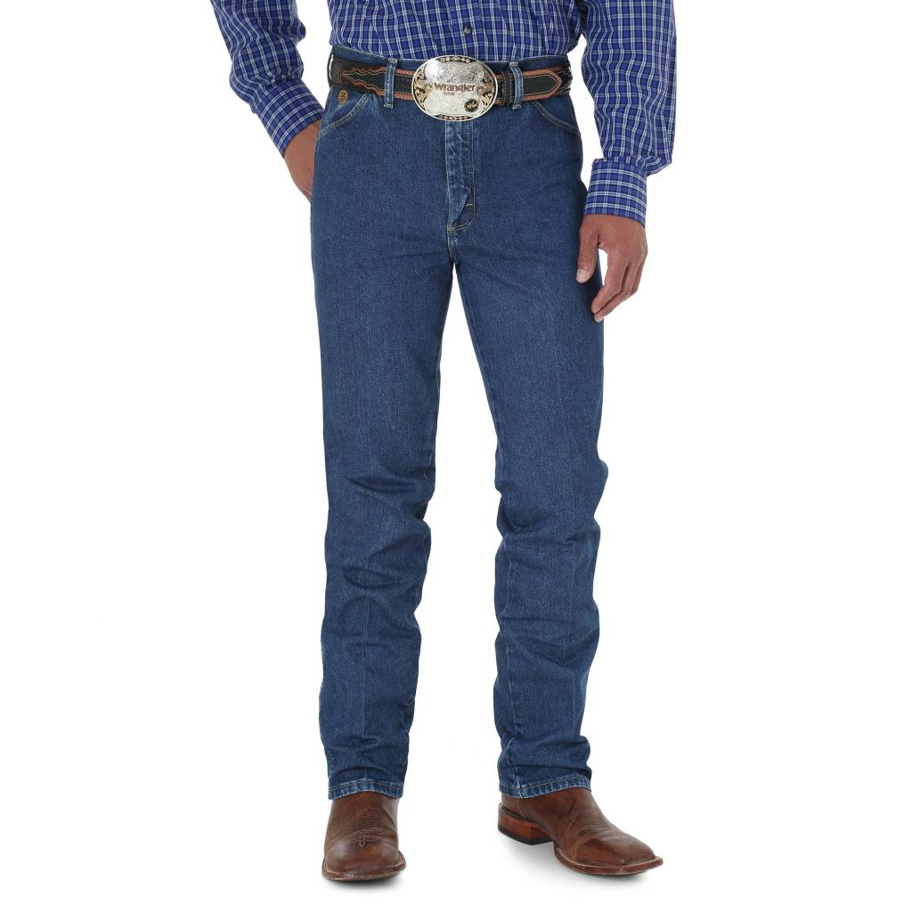 Wrangler Mens George Strait Slim Fit Jeans 936GSHD