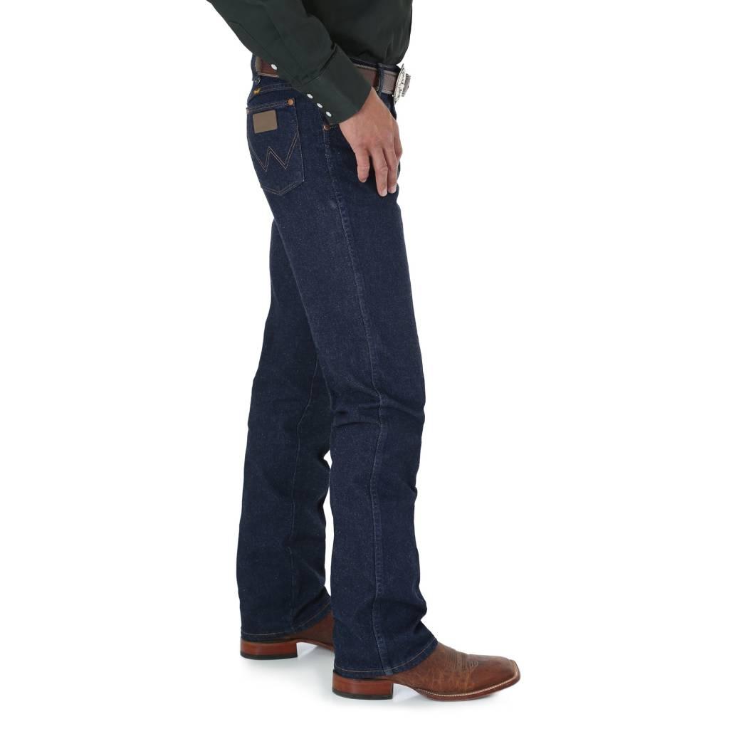 Wrangler Mens Regular Fit Blue Stretch Jeans 947STR