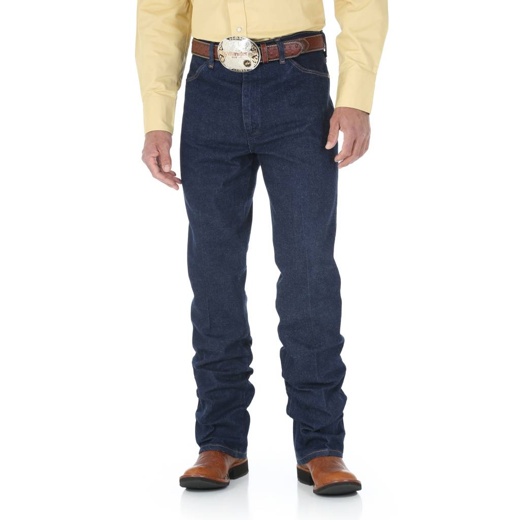Wrangler Mens Slim Fit Blue Stretch Jeans