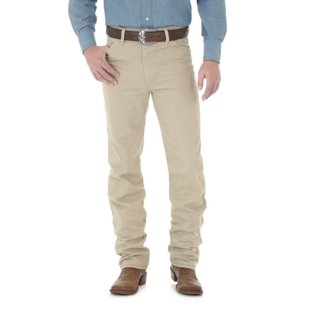 Wrangler Mens Tan Slim Fit Jeans 936TAN