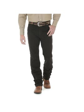 Wrangler Mens Black Chocolate Slim Fit Jeans 936KCL