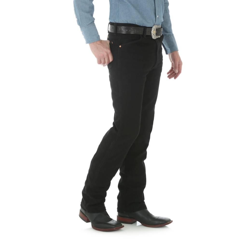Wrangler Mens Wrangler Black Slim Fit Jeans 936WBK