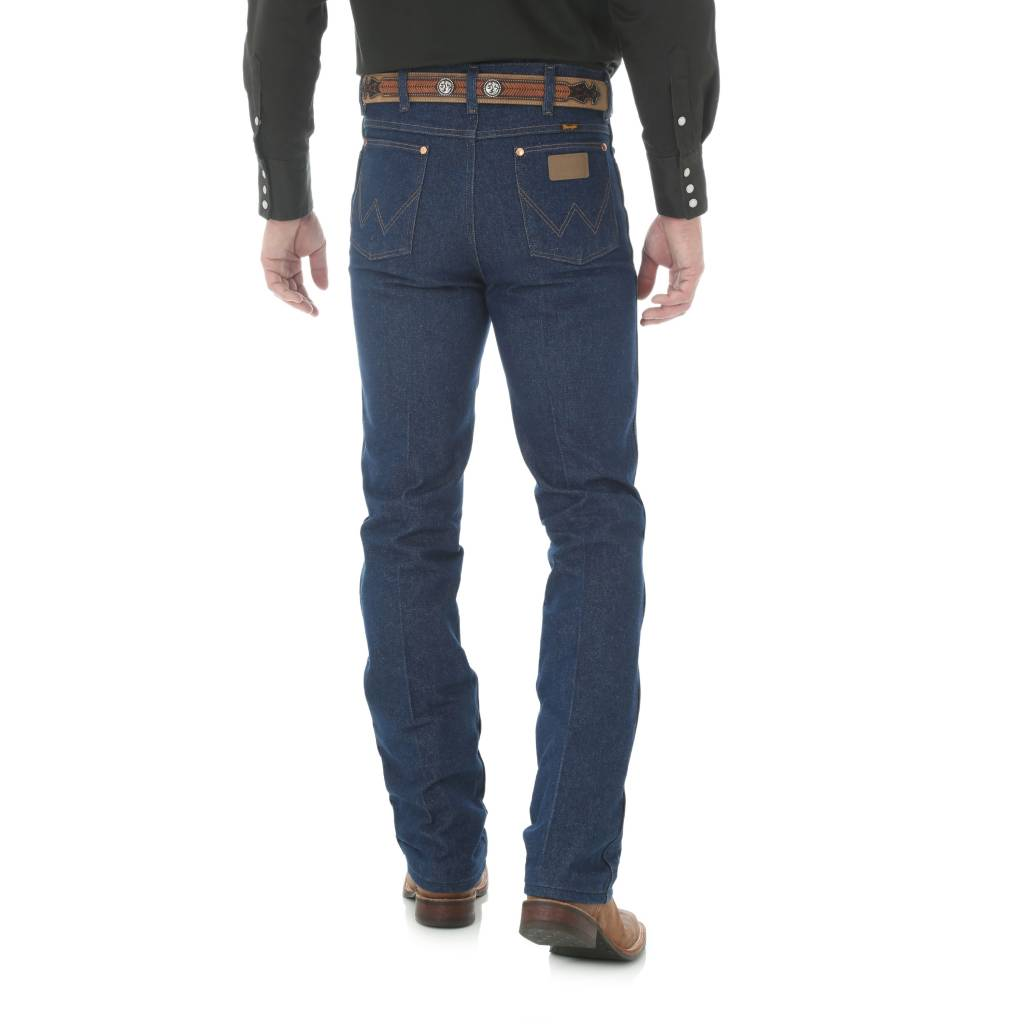 Wrangler Mens Rigid Slim Fit Jeans 936DEN