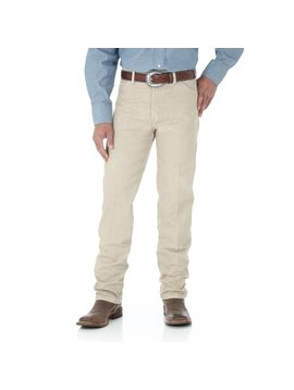Wrangler Mens Original Fit Tan Jeans 13MWZTN