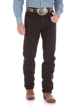 958242b5 Wrangler Mens Original Fit Black Chocolate Jeans 13MWZKL