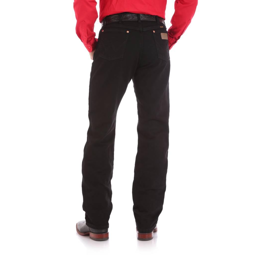 Wrangler 13MWZWK Mens Wrangler Original Fit Black Jeans