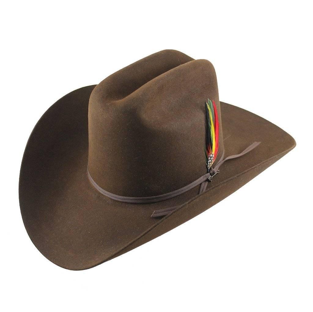 Stetson Hat Rancher 6X Chocolate SFRNCH-01402271 - Wild Bill s Western 5e25993be37