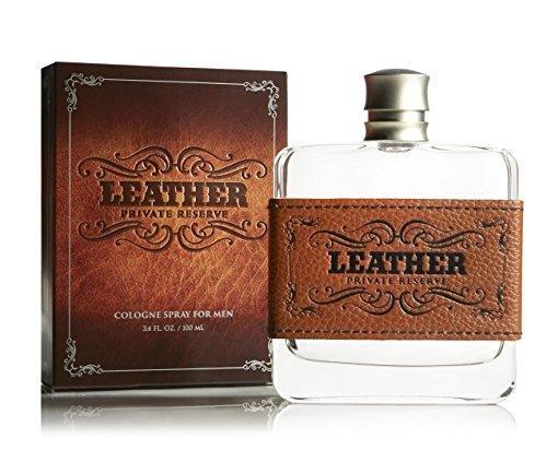 Tru Fragrance Leather Cologne Spray