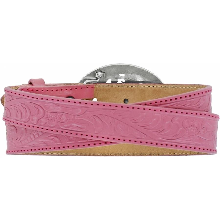 Leegin Kid's Lil Beauty Horse Belt Pink C30201