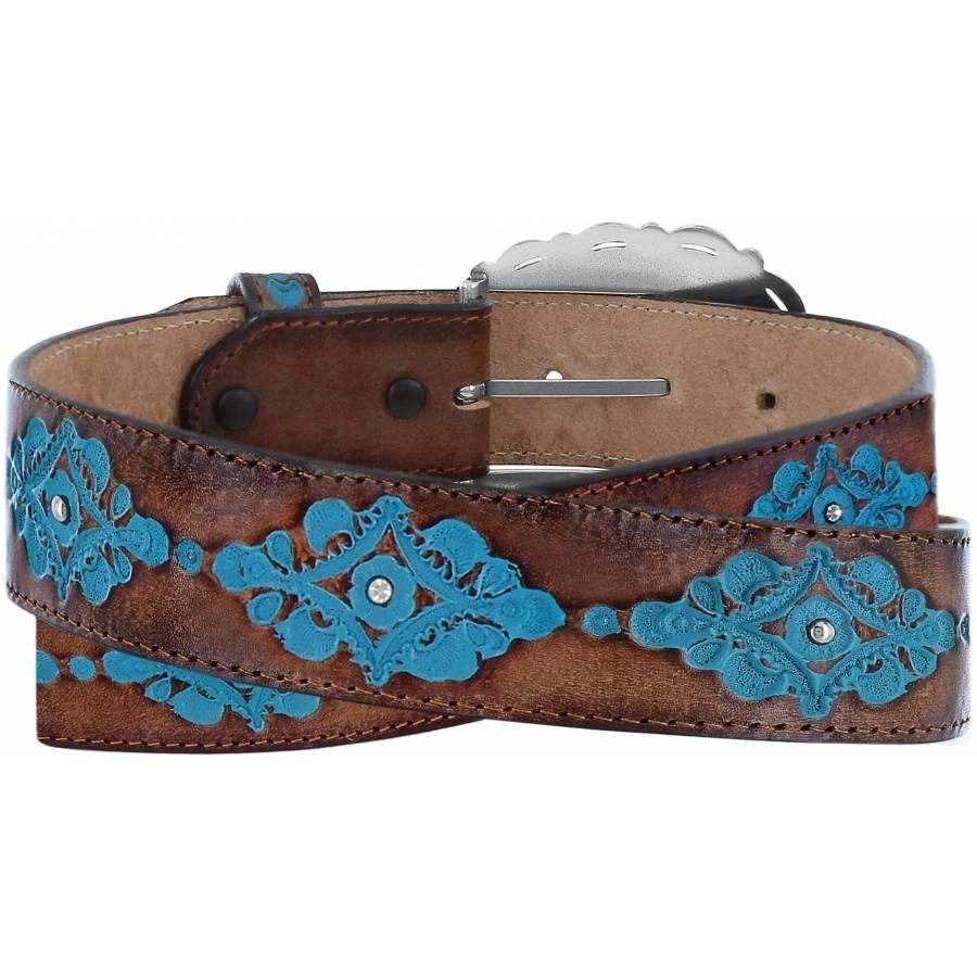 Leegin Women's  Anasazi Turqoise Belt C21465