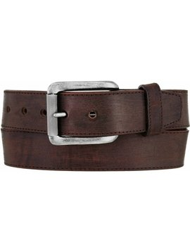 Leegin Men's Brown Bomber Belt C11745