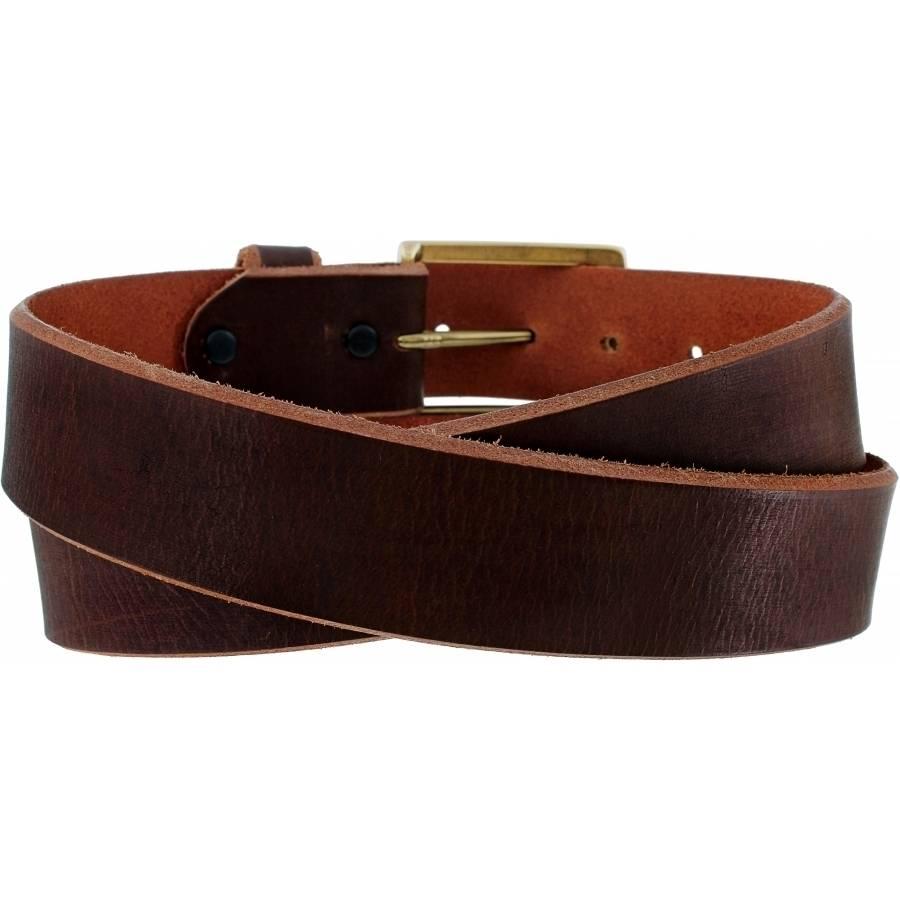 Leegin Men's Brown Huntsville Special Belt C00185