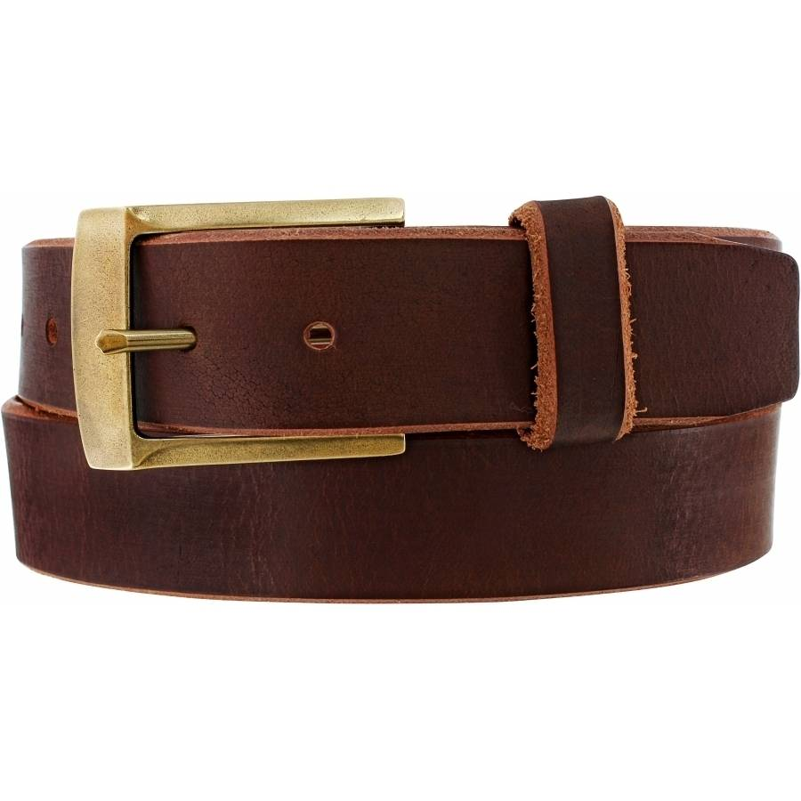 Leegin Men's Brown Huntsville Special Belt C00185