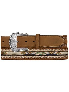 Leegin Men's Badlands Horsehair Belt 7289L