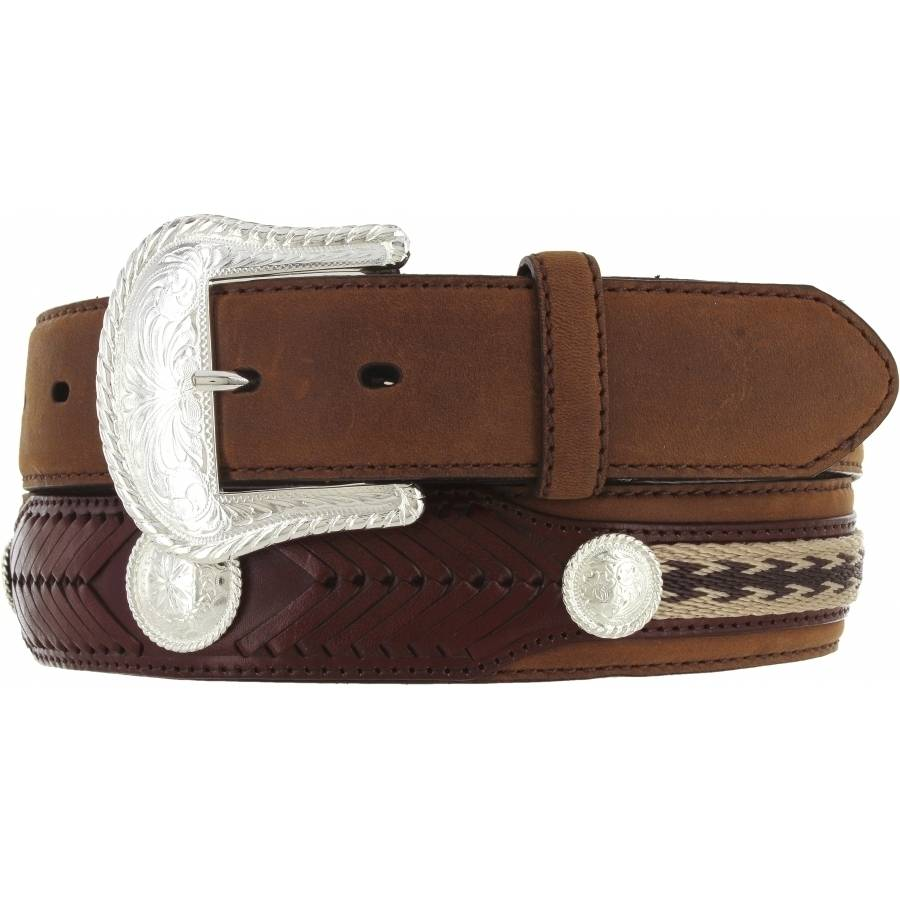 Leegin Men's The Duke Belt Bark 7239L