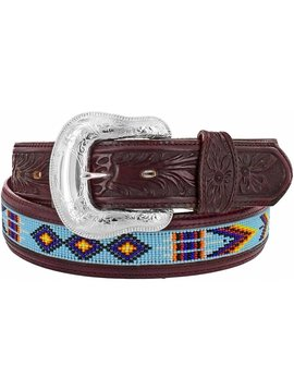 Leegin Men's Chimayo Bead Belt C13615