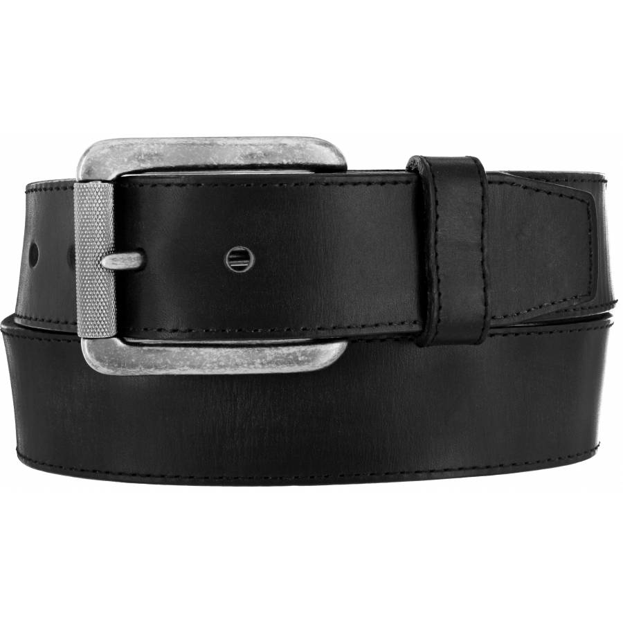 Leegin Men's Black Bomber Belt C11743