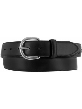 Leegin Men's Black Belt Big Size X5402