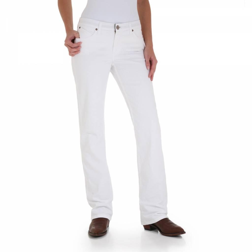 045cfa65 Wrangler WRQ20WS Ladies Q-Baby White Jean - Wild Bill's Western