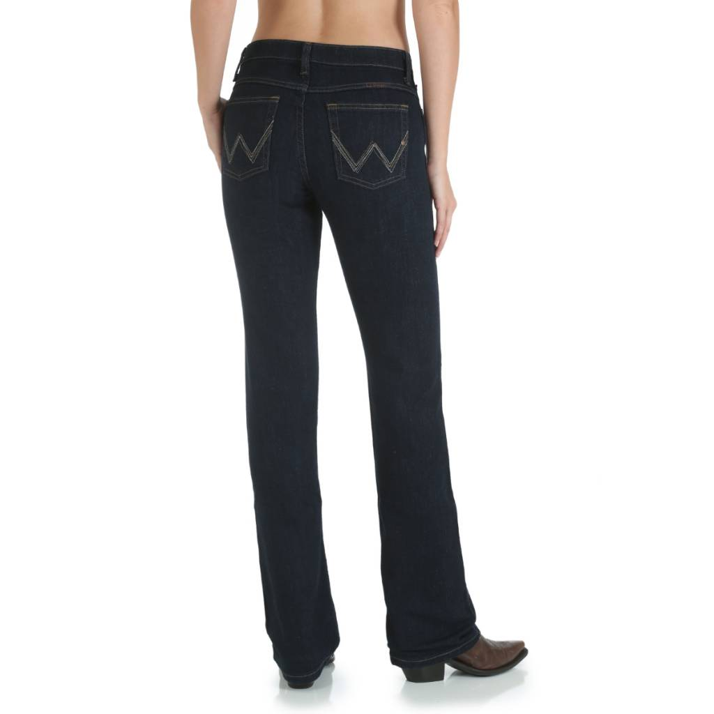 Wrangler WRQ20DD Ladies Q-Baby Dark Dynasty Jean