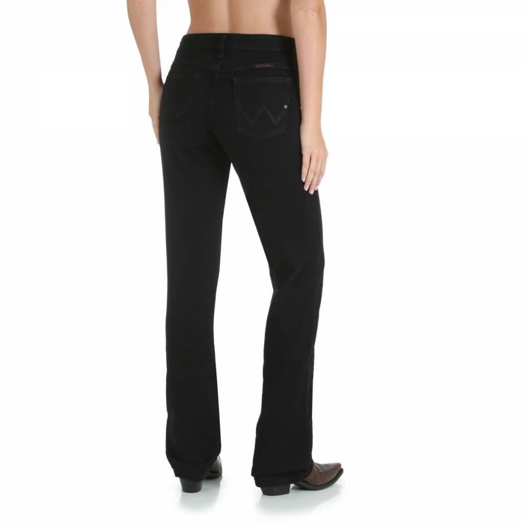 Wrangler WRQ20BL Ladies Q-Baby Black Jean
