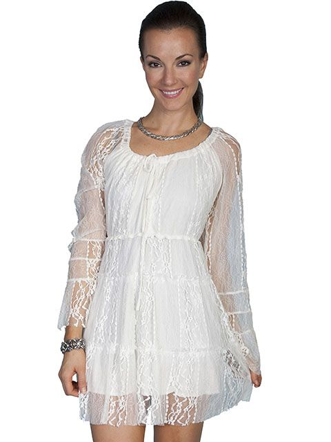Scully Ladies Lace Dress HC81
