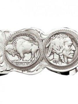 Montana Silversmith Indian Head Money Clip MCL50