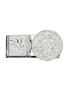 Montana Silversmith Engraved Hinged Money Clip MCL22