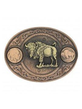 Montana Silversmith Buffalo Nickel Buckle 4050BLB-941L