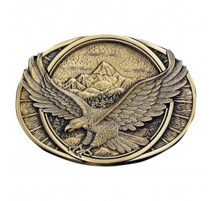 Montana Silversmith Soaring Eagle Buckle 60791C