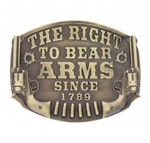 Montana Silversmith The Right To Bear Arms Buckle A603C