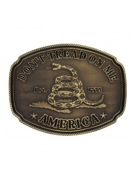 Montana Silversmith Don't Tread On Me Buckle A515C