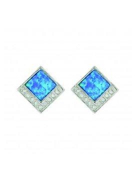 Montana Silversmith Opal Diamond Earrings ER3643