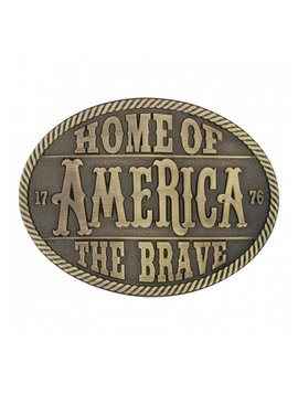 Montana Silversmith A629C Montana Home Of The Brave Buckle