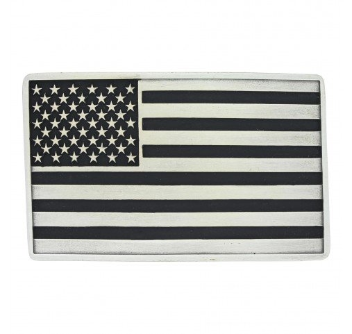 Montana Silversmith A644 Montana Antique American Flag Buckle