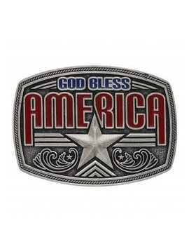 Montana Silversmith A579S Montana God Bless America Buckle
