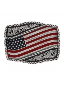 Montana Silversmith A590P Montana Waving Flag Buckle