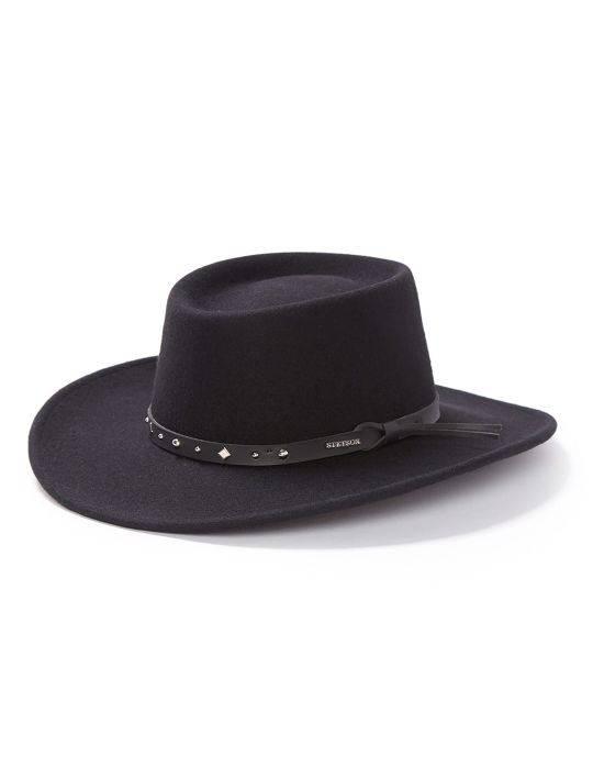 Stetson Hat BlackHawk Crushable Felt Hat - Wild Bill s Western d226150a564