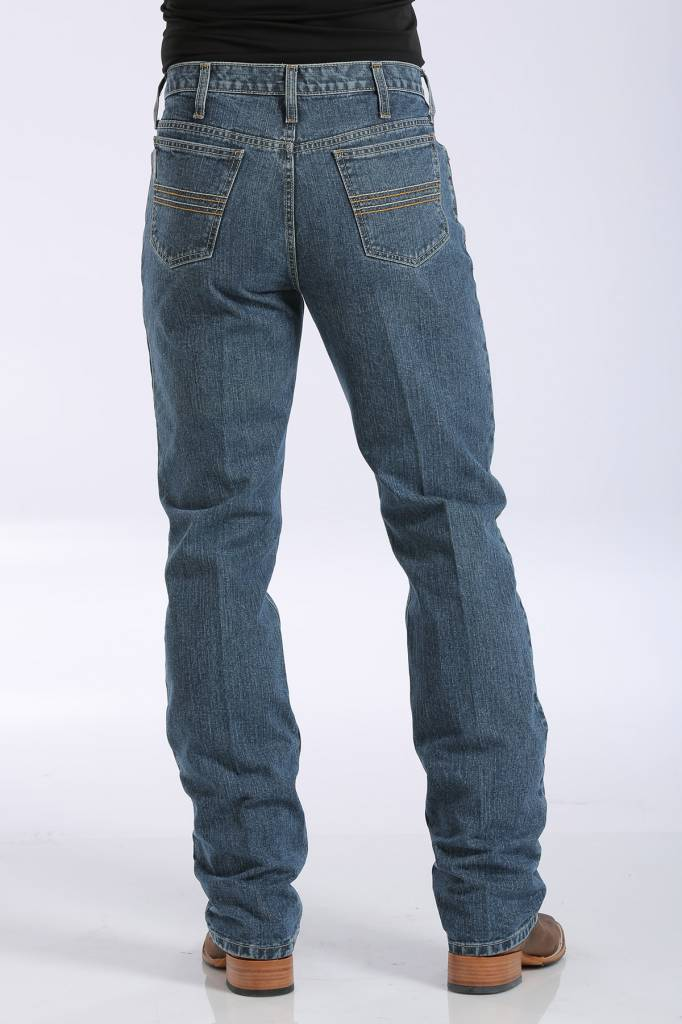 Cinch Silver Label Medium Stonewash Jeans MB98034001