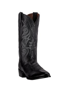 Dan Post Boot Men's Milwaukee Black Western Boot DP2110R