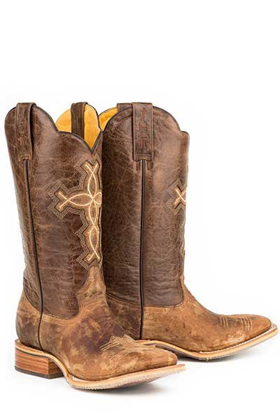 "Tin Haul 14-020-0007-0222BR  Men's ""Ichthys Aroundus""Boot"